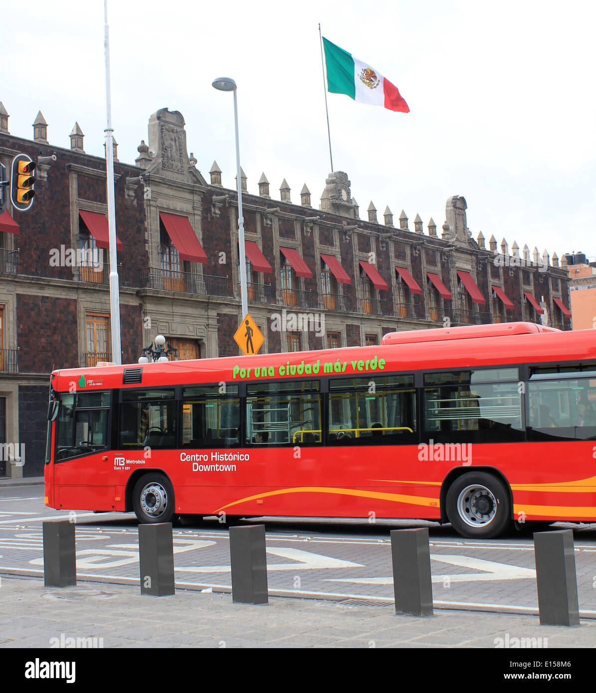 Transportation Public Transport Metrobus Stock Photos