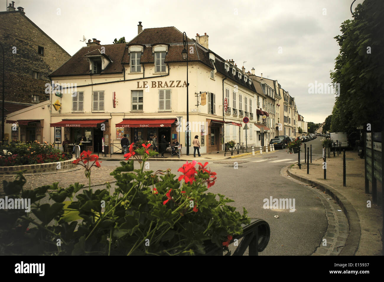 Sisley paintings stock photos sisley paintings stock images alamy - Le soleil levant port marly ...