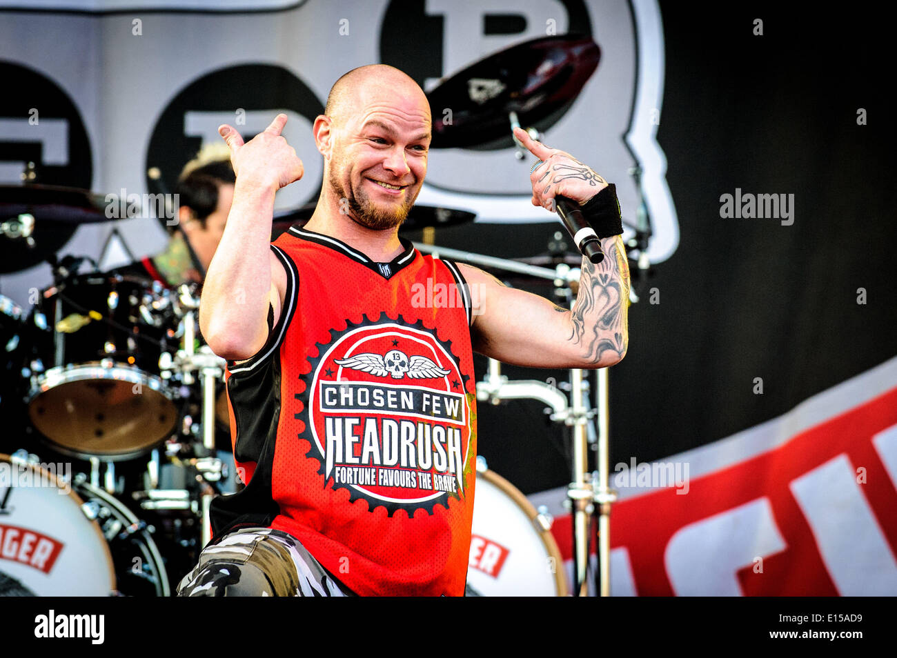 Toronto Ontario Canada 18th May 2014 Five Finger Death Punch