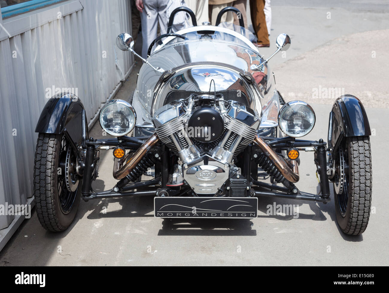 Morgan Motors Car factory - Stock Image