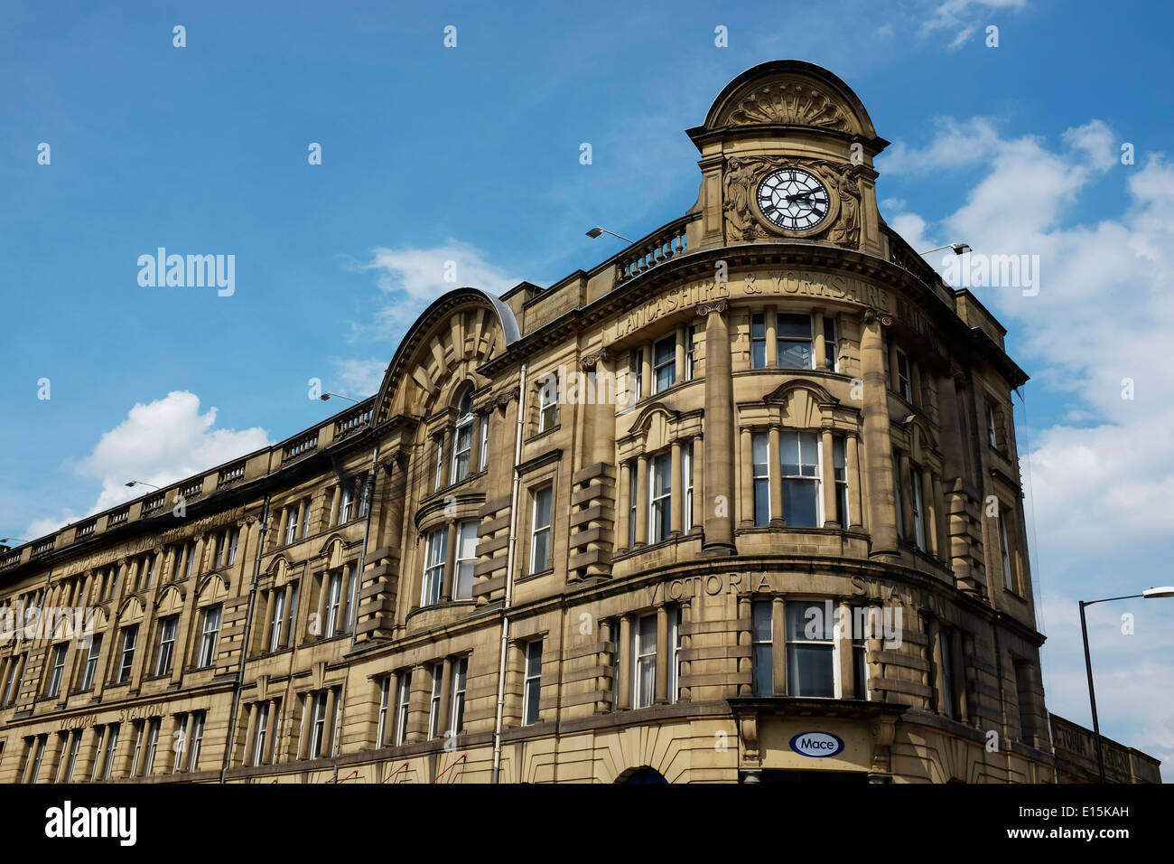 Victoria Station in Manchester city centre UK - Stock Image