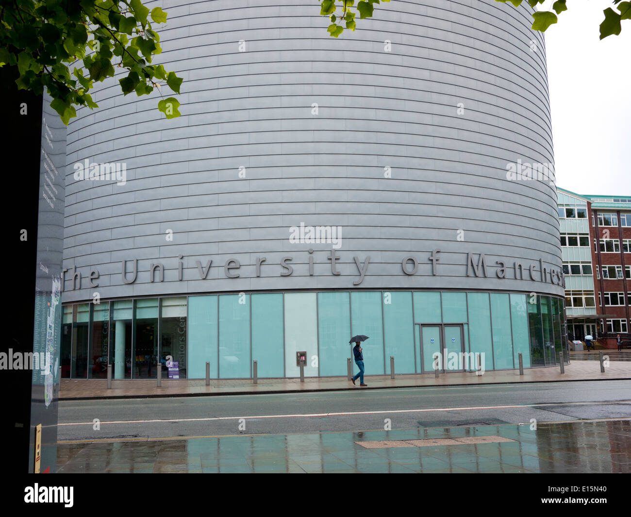 University Place which is for conferences,lectures,and a visitors centre, Oxford rd,Manchester,UK. - Stock Image
