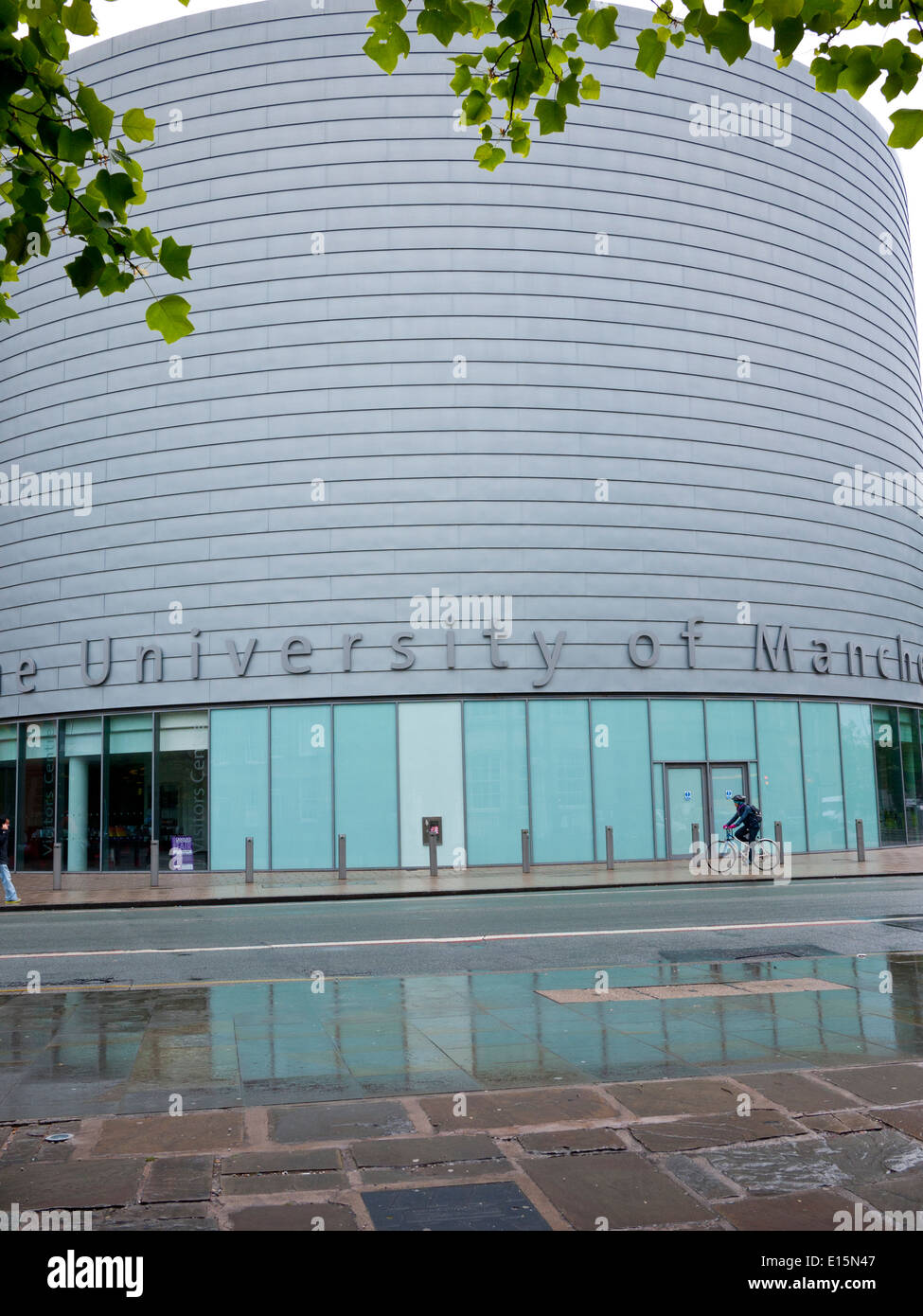 University Place which is for conferences,lectures,and a visitors centre, Oxford rd,  Manchester,UK. - Stock Image