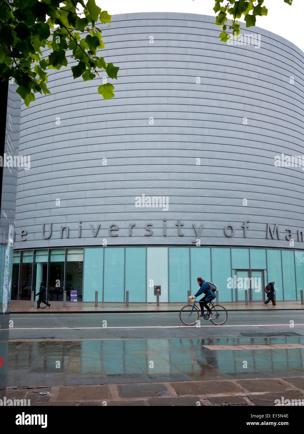 University Place which is for conferences,lectures,and a visitors centre,Oxford rd, Manchester,UK. - Stock Image