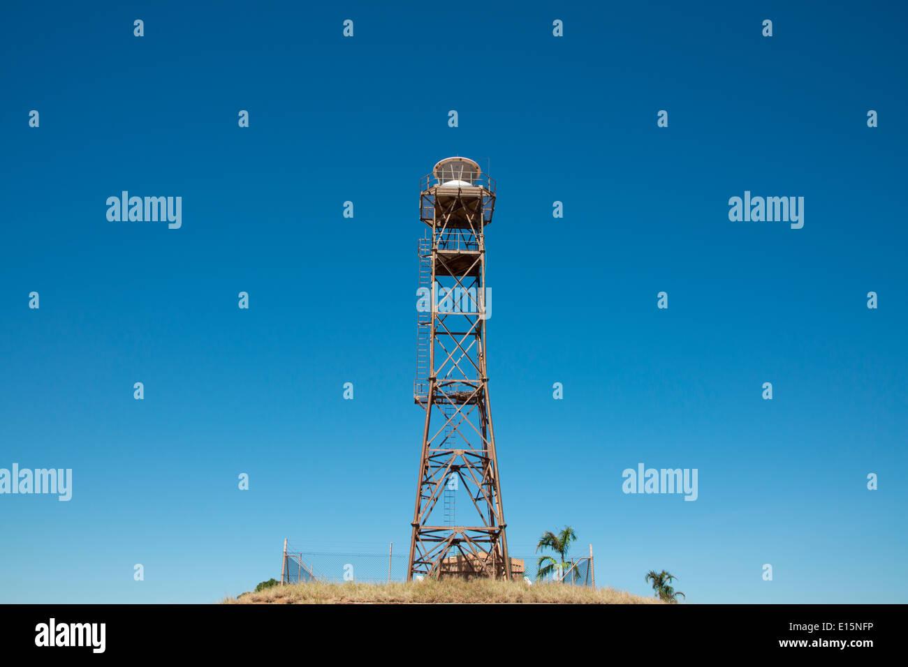 Australia, Western Australia, Broome. Gantheaume Point. Gantheaume Point Lighthouse. - Stock Image