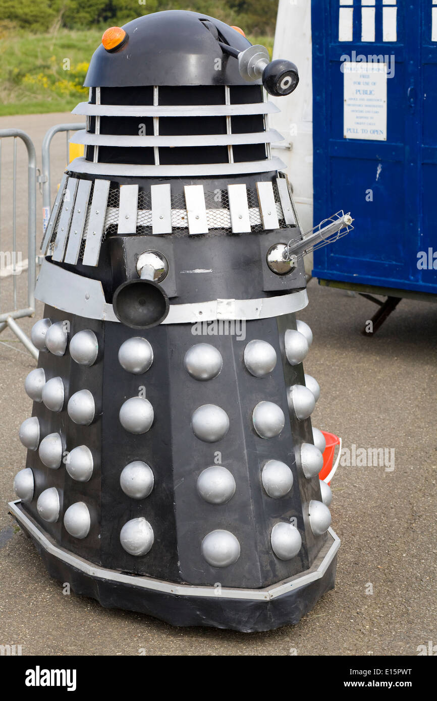 Dr Who arch enemy the Dalek - Stock Image