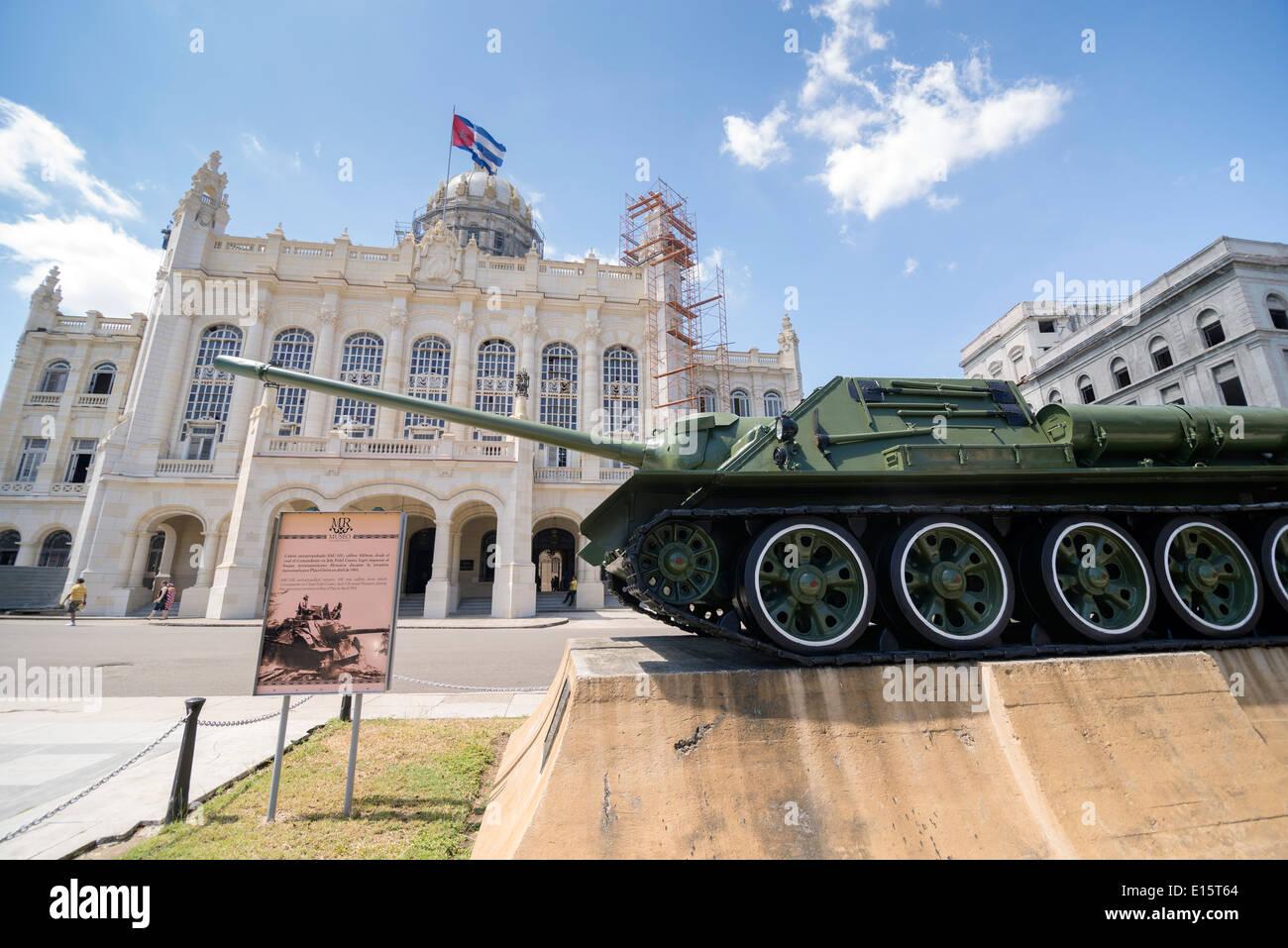 Museum of the Revolution. Havana Cuba - Stock Image