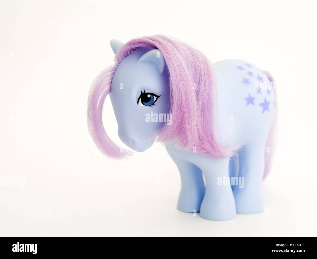 My Little Pony Earth Horse Belle Stars 1982 by Hasbro - Stock Image