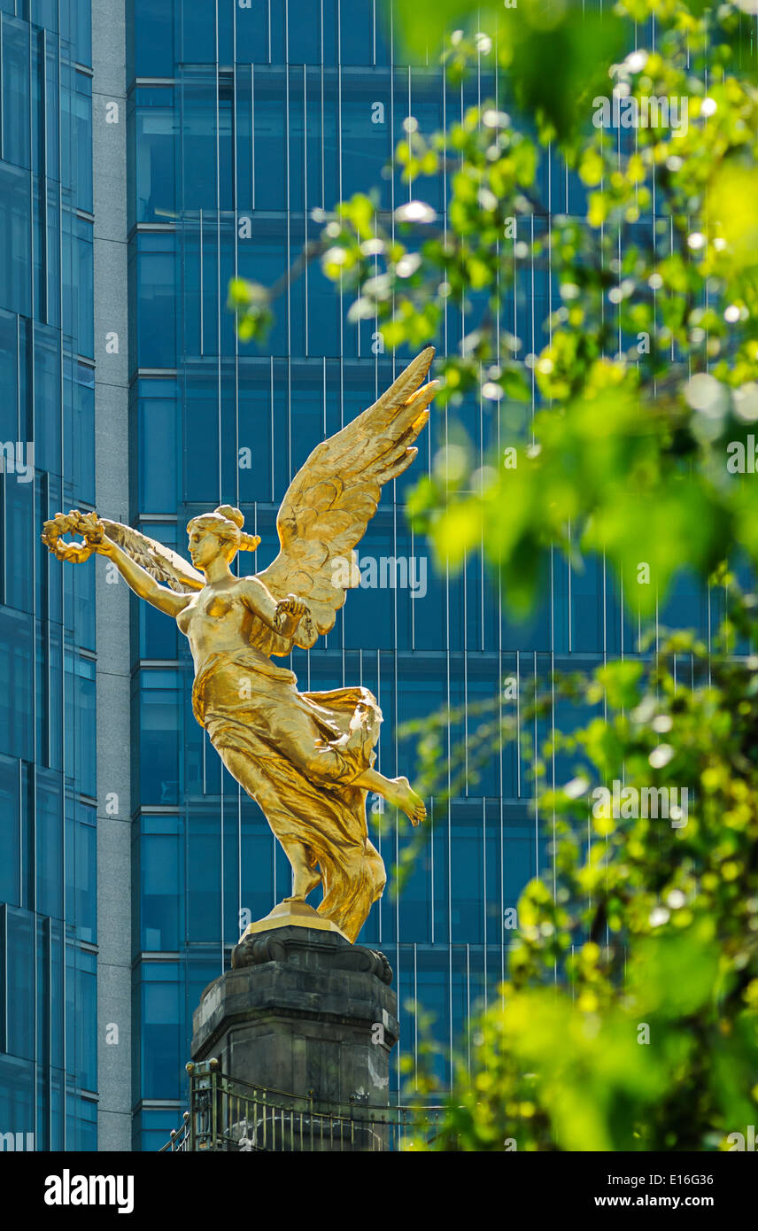 Independence Angel, Mexico City - Stock Image