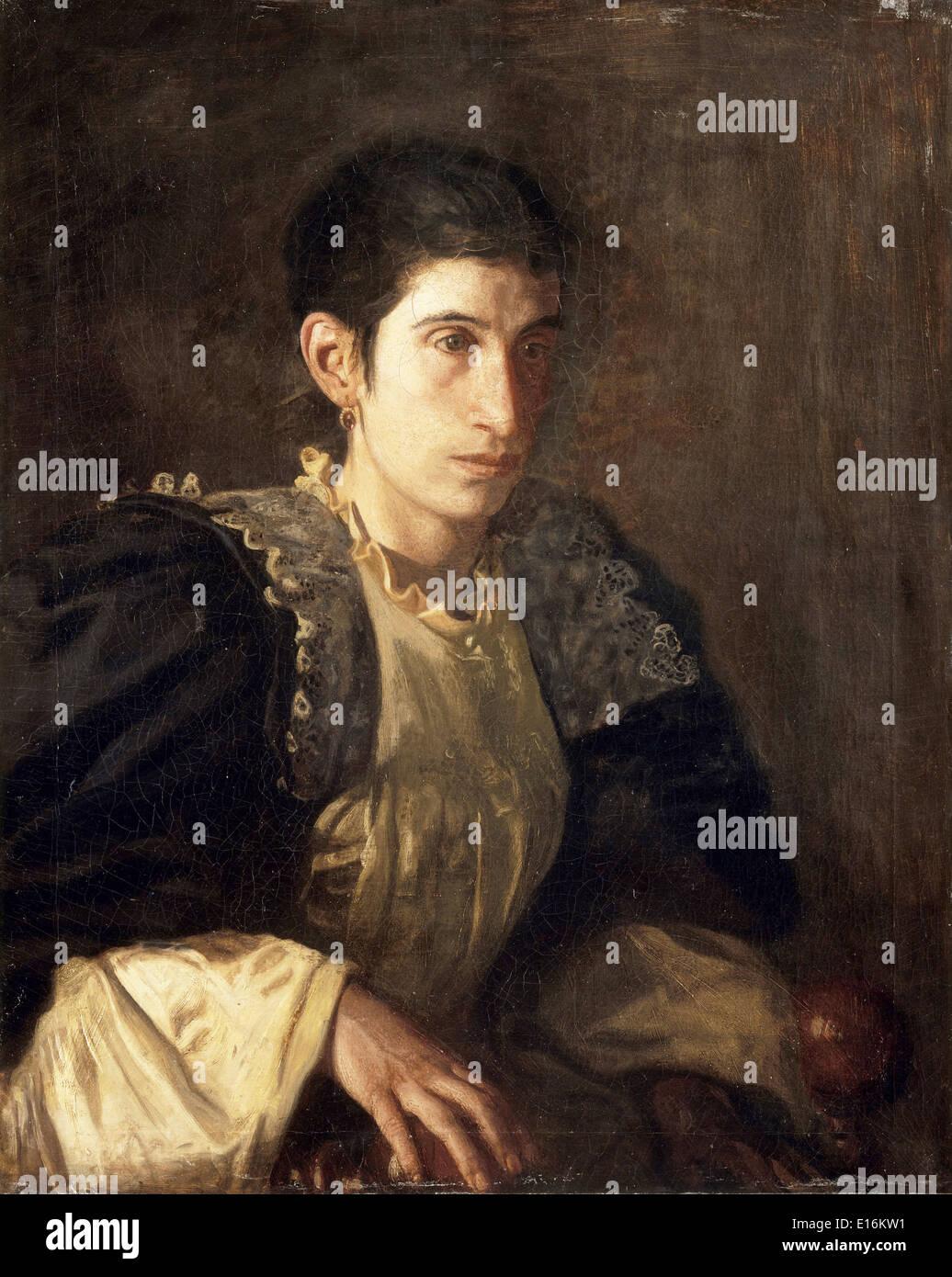 Signora Gomez d'Arza by Thomas Eakins, 1902 - Stock Image