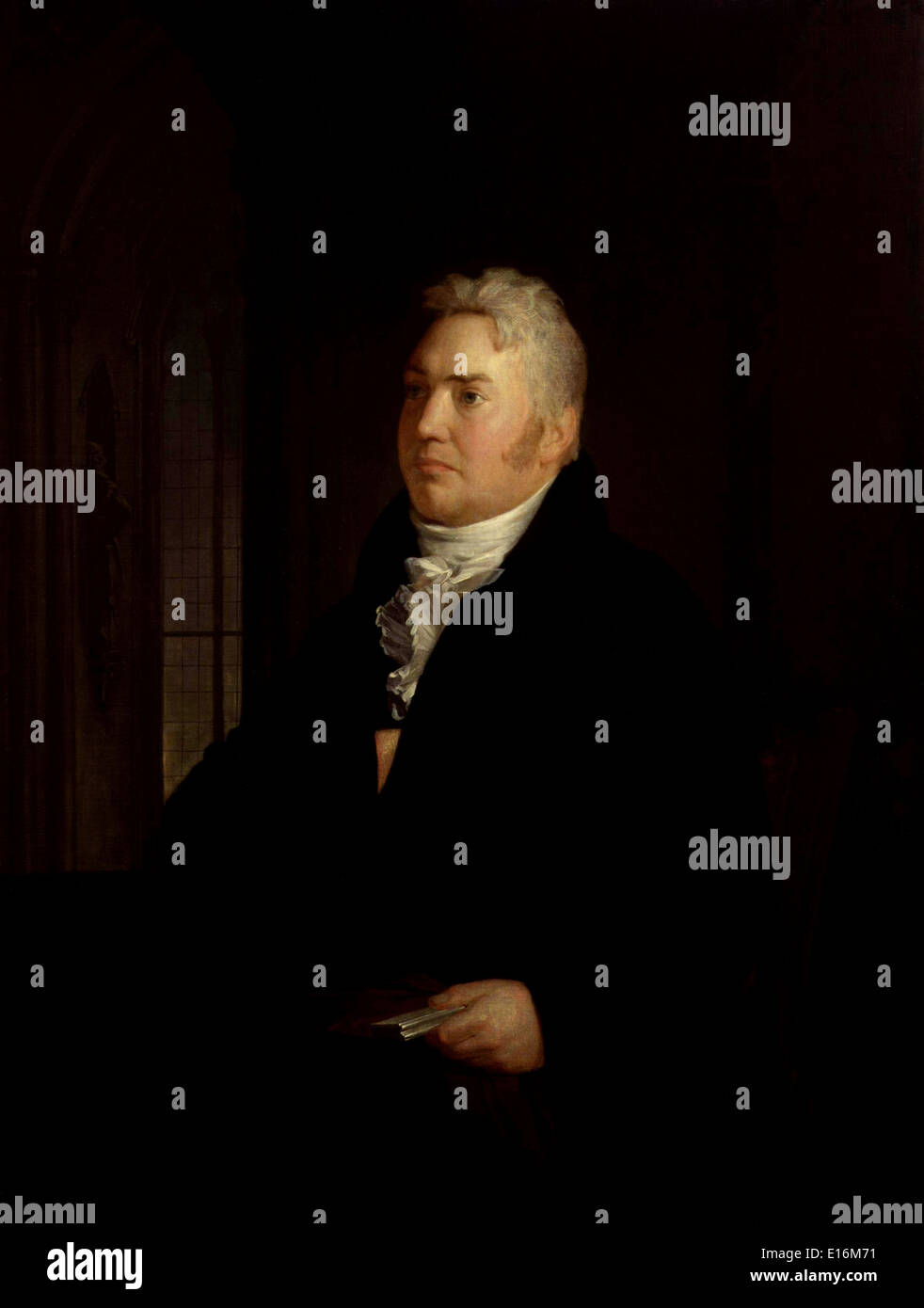 Samuel Taylor Coleridge by Washington Allston, 1814 - Stock Image
