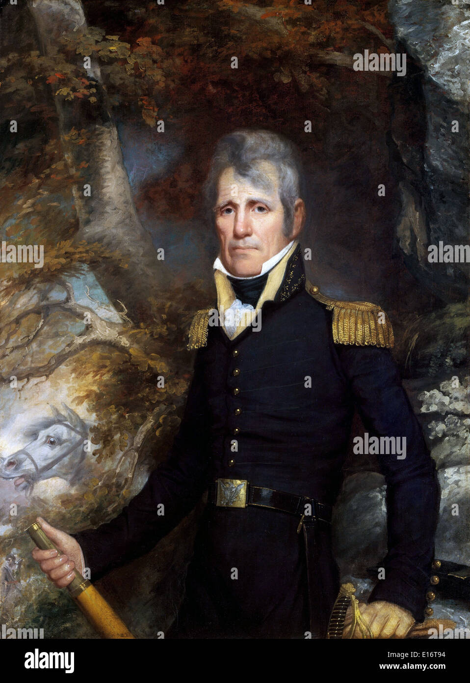 General Andrew Jackson by John Wesley Jarvis - Stock Image