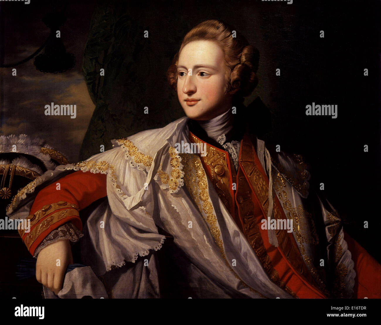 Francis Osborne 5th Duke of Leeds by Benjamin West - Stock Image