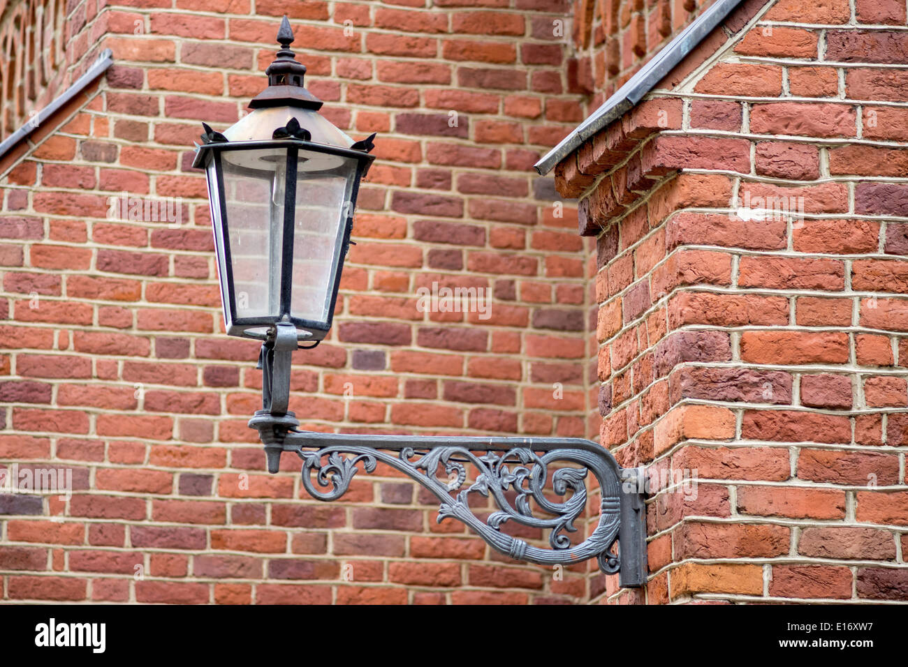 Old street lamp - Stock Image