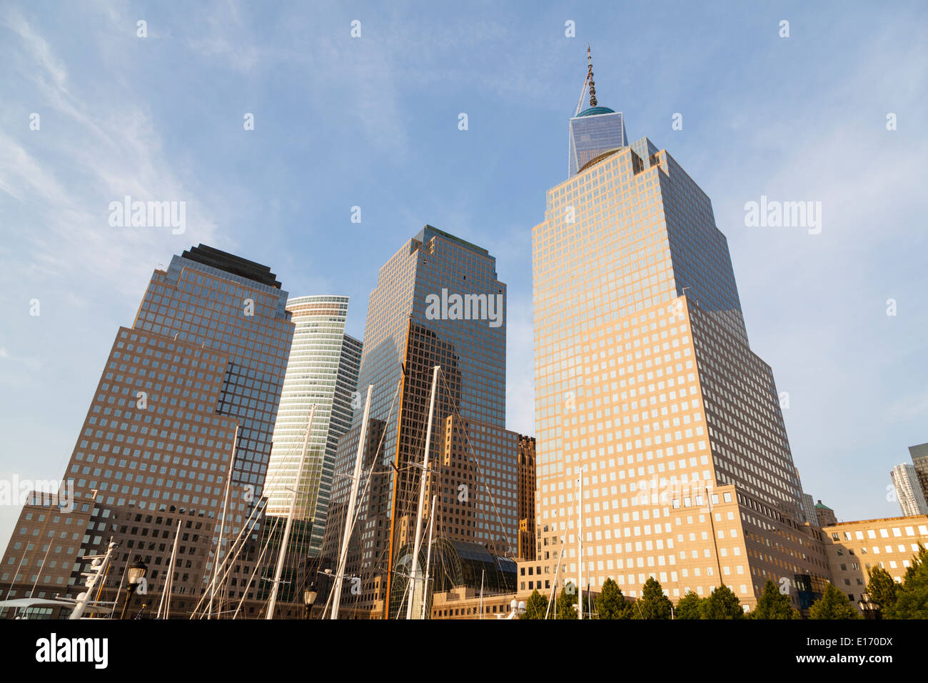 2 World Trade Center Stock Photos Amp 2 World Trade Center