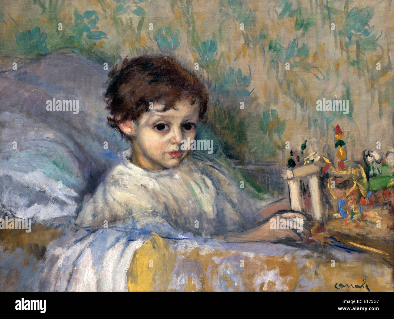 Study (Sick Child) 1903  Ricard Canals 1876-1931  Spain Spanish - Stock Image