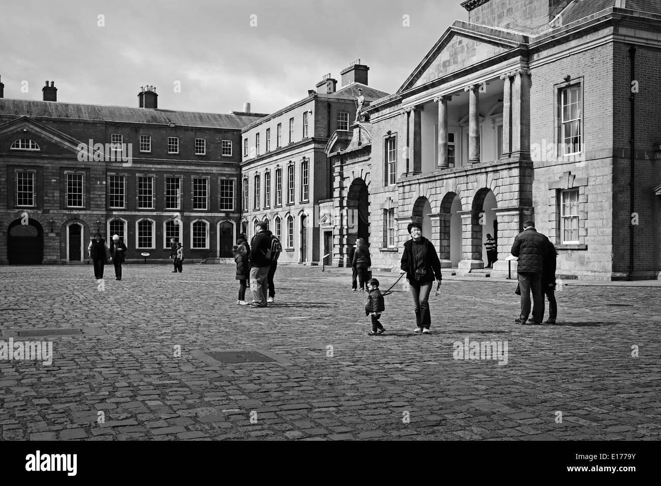 Dublin Castle - Stock Image
