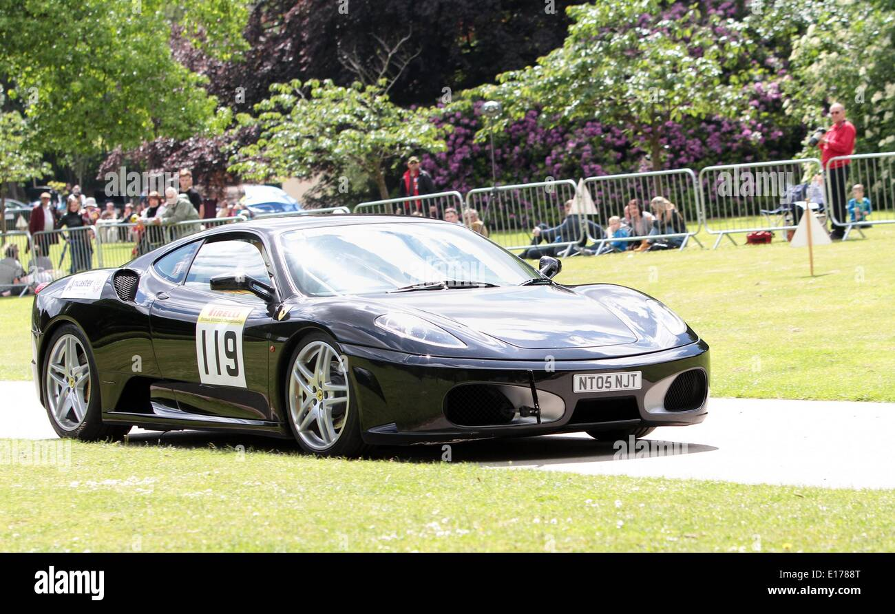 Competitors At The 2014 Motor Sport At The Palace At Crystal Palace Park  South London 25.05