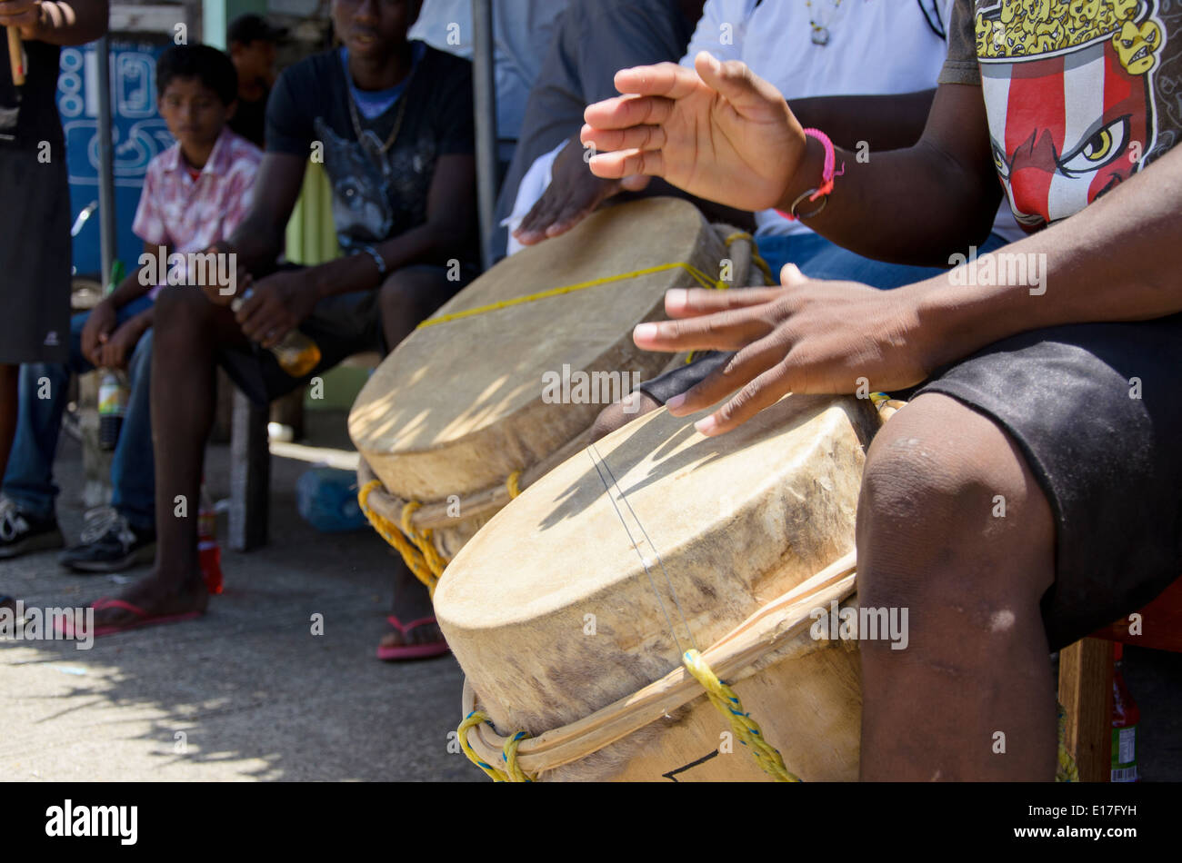 2014 Toledo District Chocolate Festival in Belize - Stock Image