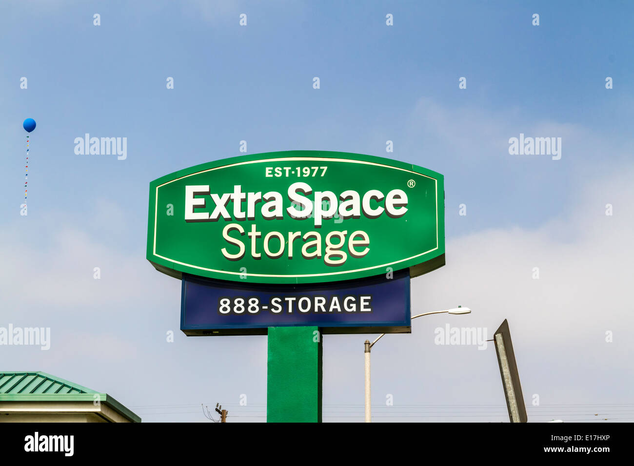 Extra Space personal storage location in Fontana California - Stock Image
