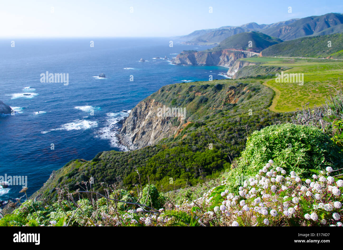 Big Sur California USA Stock Photo