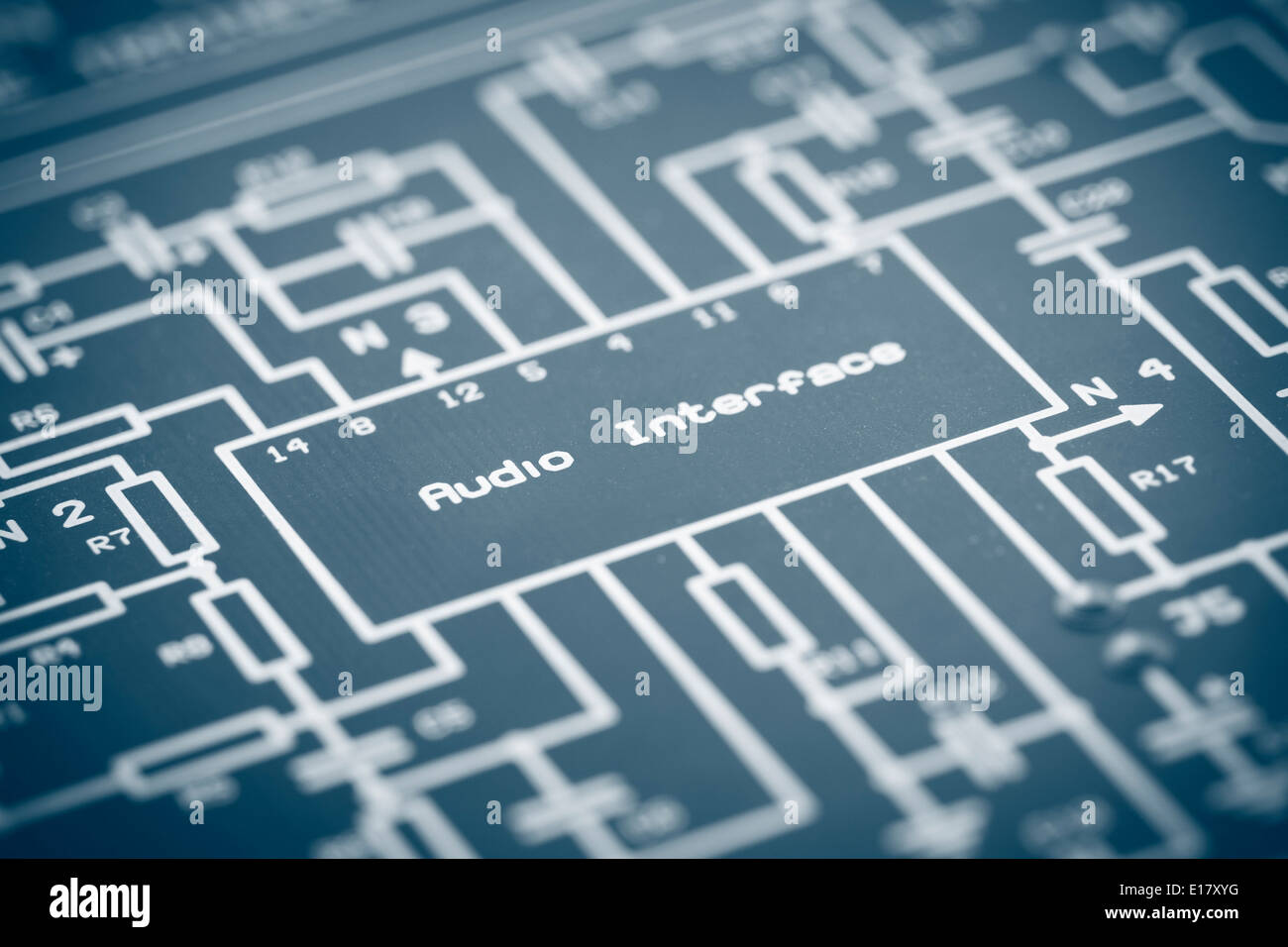Schematic Electronic Stock Photos & Schematic Electronic Stock ...