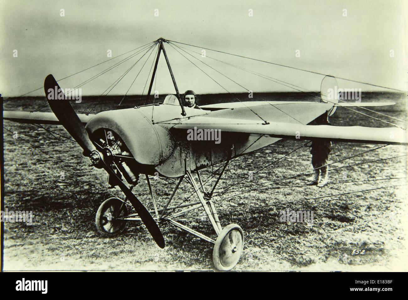 Fokker, M.5L - Stock Image