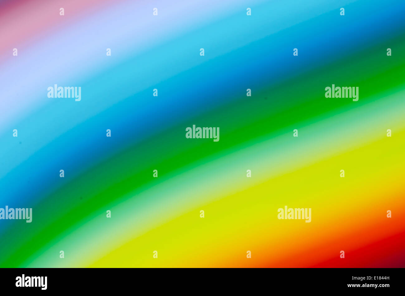 colorful abstract background in rainbow spectrum colors - Stock Image