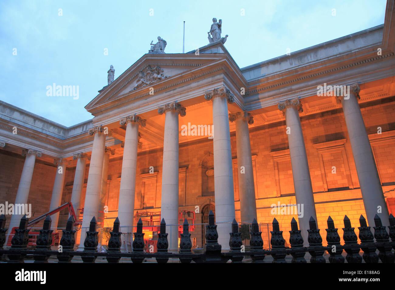 Ireland, Dublin, Bank of Ireland, - Stock Image