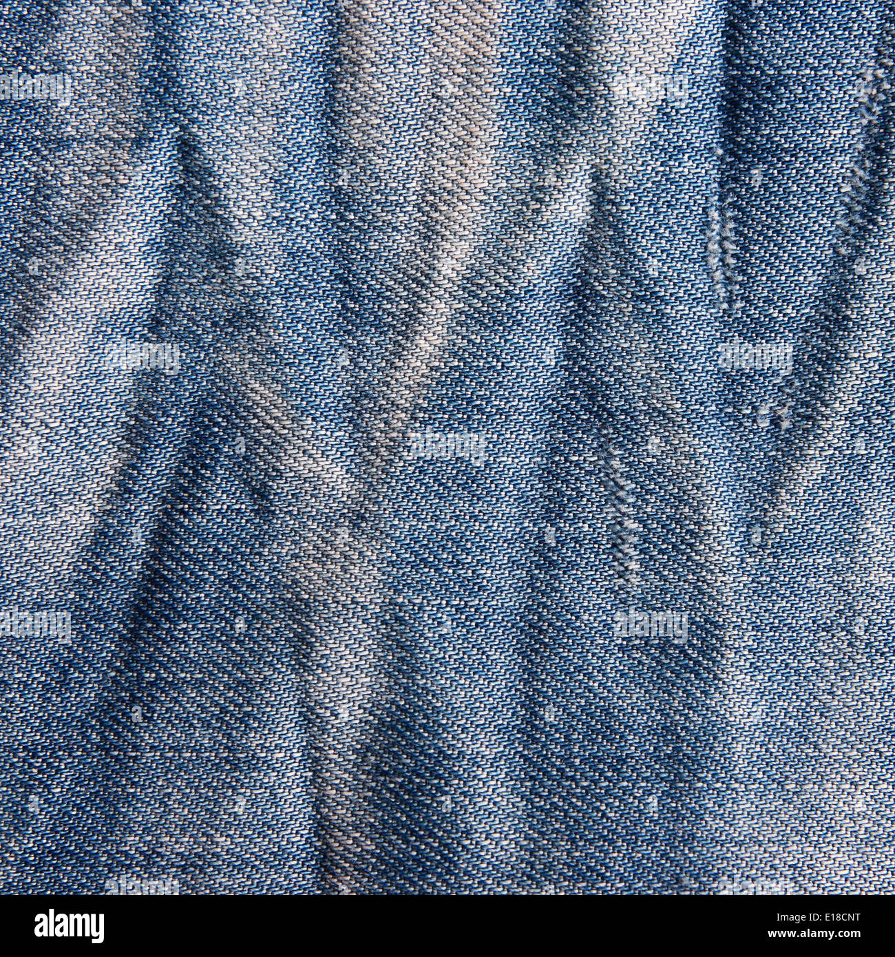 Vintage jeans texture with scuffed. Jeans background. - Stock Image