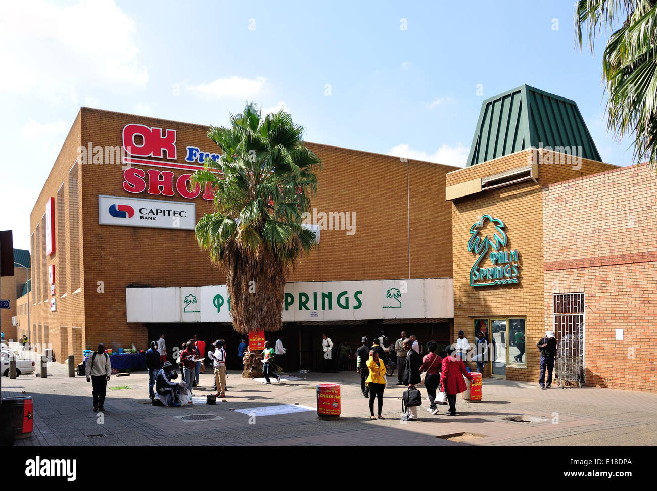 Entrance To Palm Springs Shopping Centre East Rand Gauteng Province Republic Of South Africa