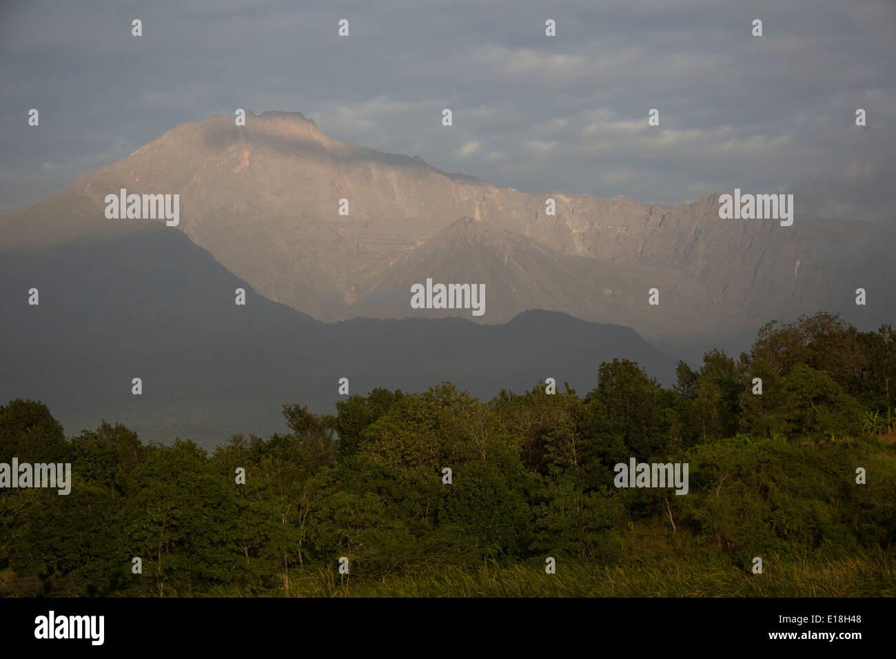 Mount Meru, Tanzania, East Africa - Stock Image