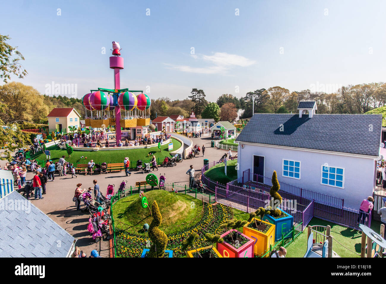 Peppa Pig World, Paultons Park, Southampton, England, United Kingdom. Stock Photo