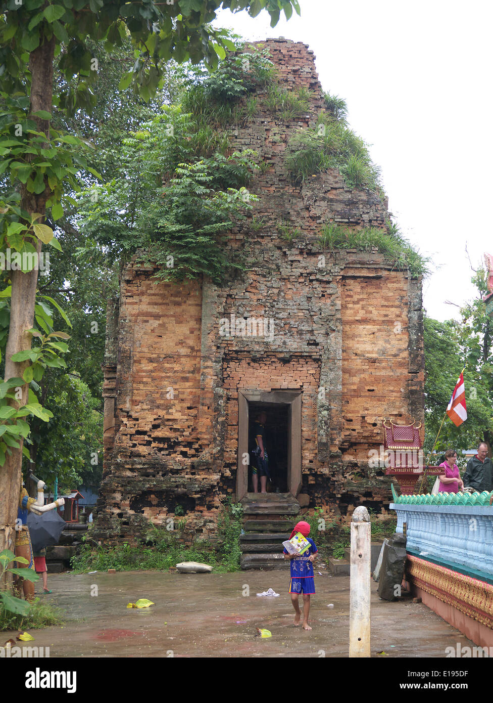 Oldest temples at Phenom Penh - Stock Image