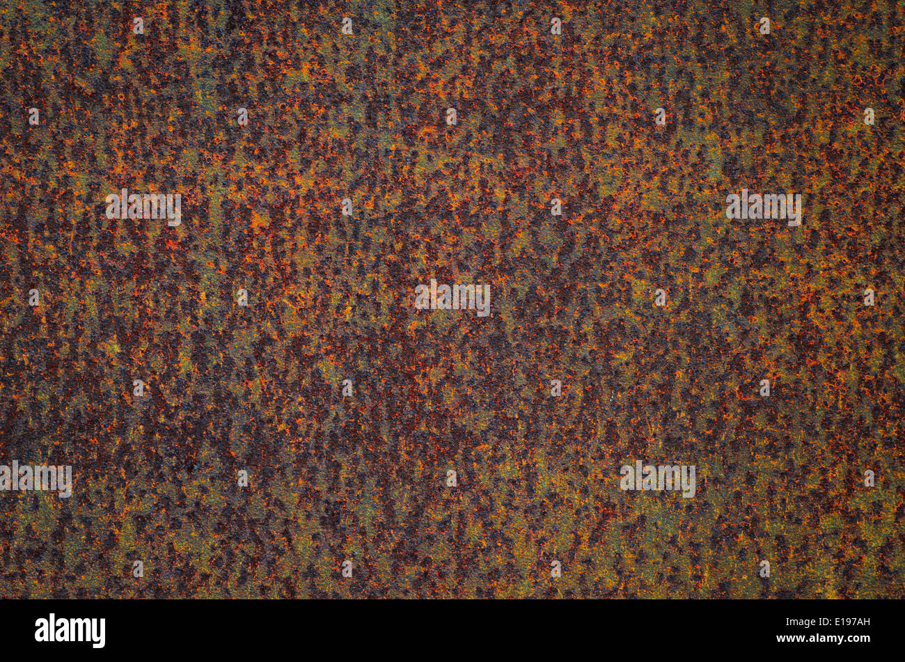 old rusted metal background texture - Stock Image