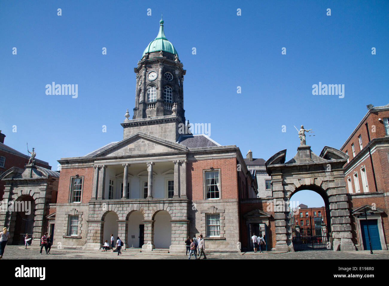 Bedford Tower built 1761 as part of Dublin Castle, seat of English rule in Ireland Dublin,Ireland Stock Photo