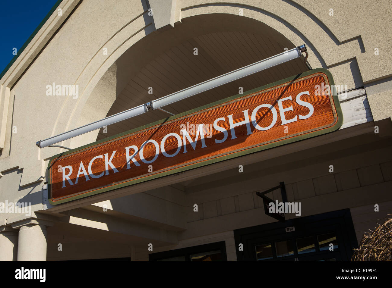 Rack Room Shoes is pictured in Tanger