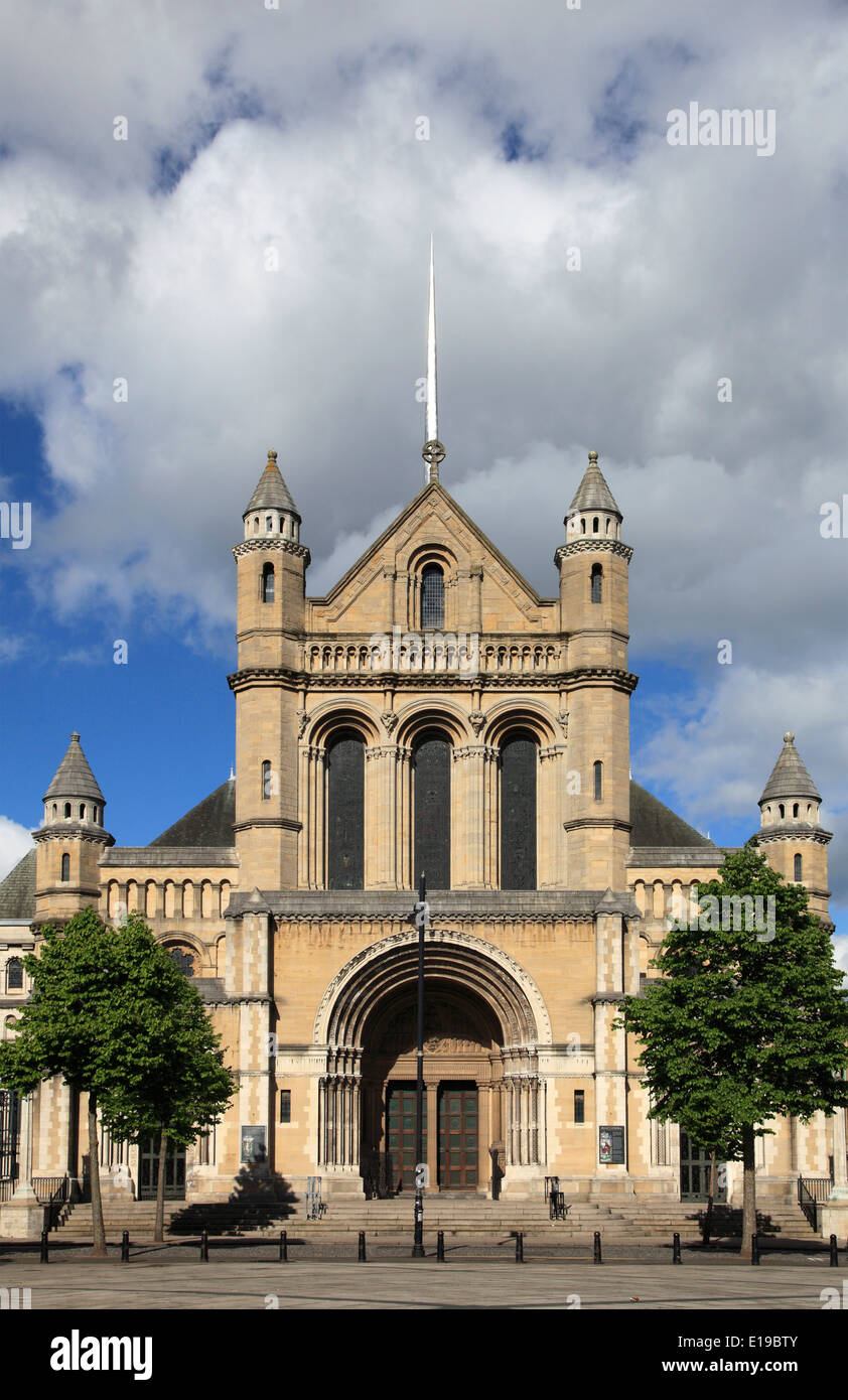 UK, Northern Ireland, Belfast, St Anne's Cathedral, - Stock Image