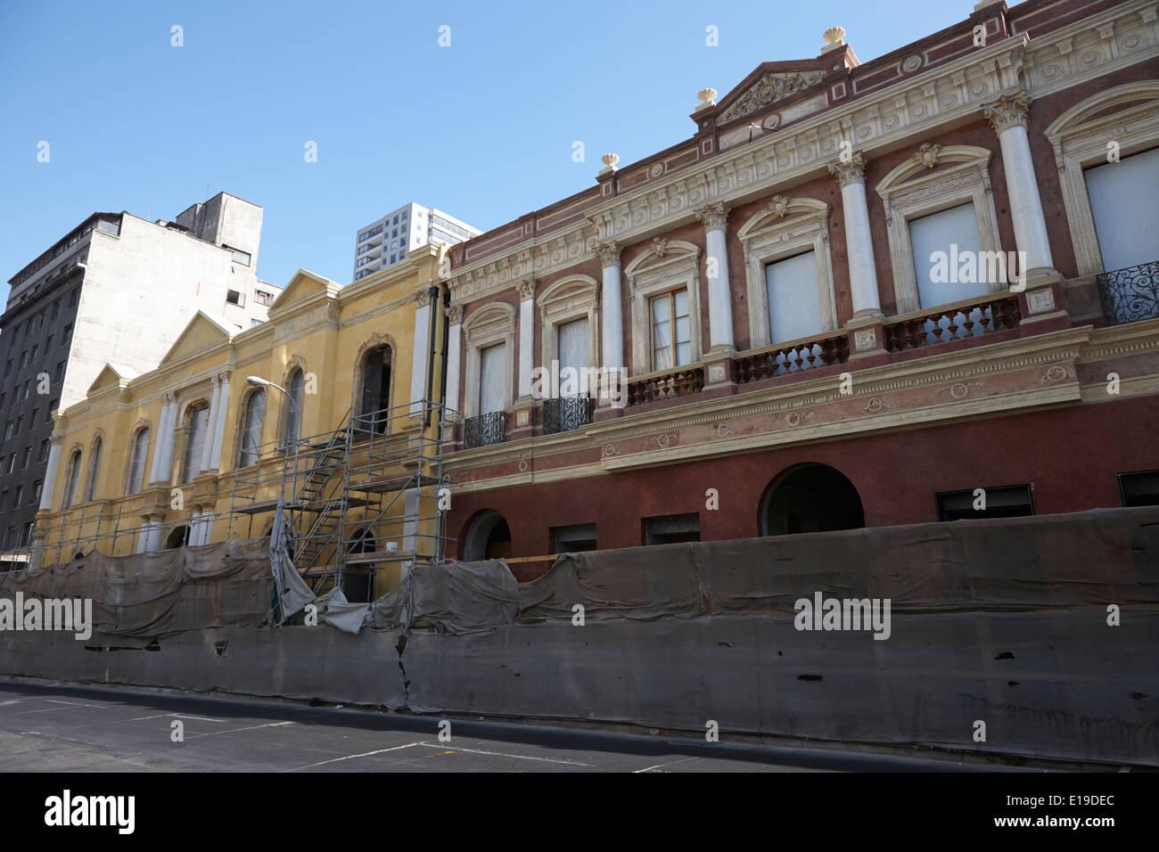 restoration of old buildings