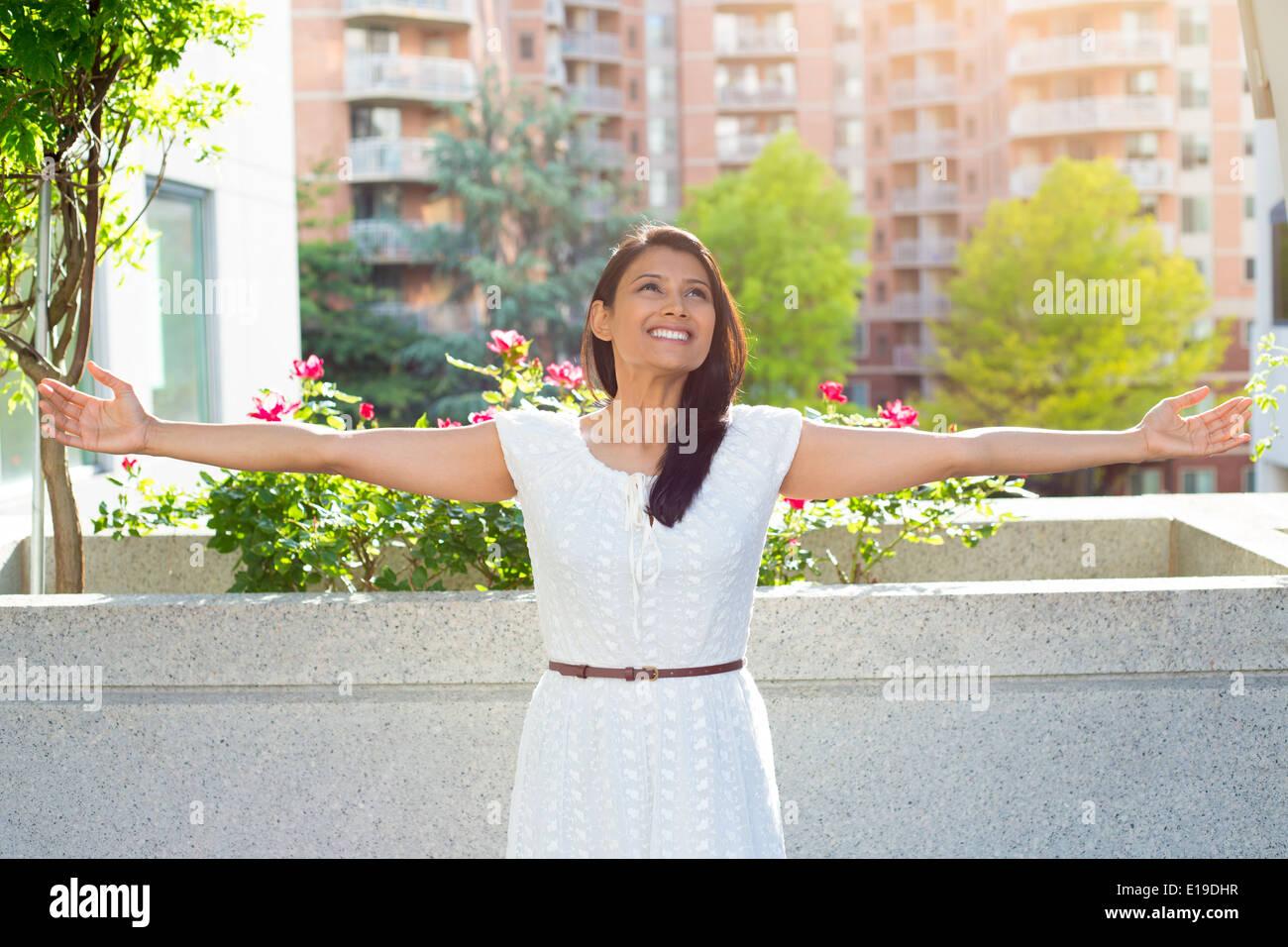 Enjoying life - Stock Image
