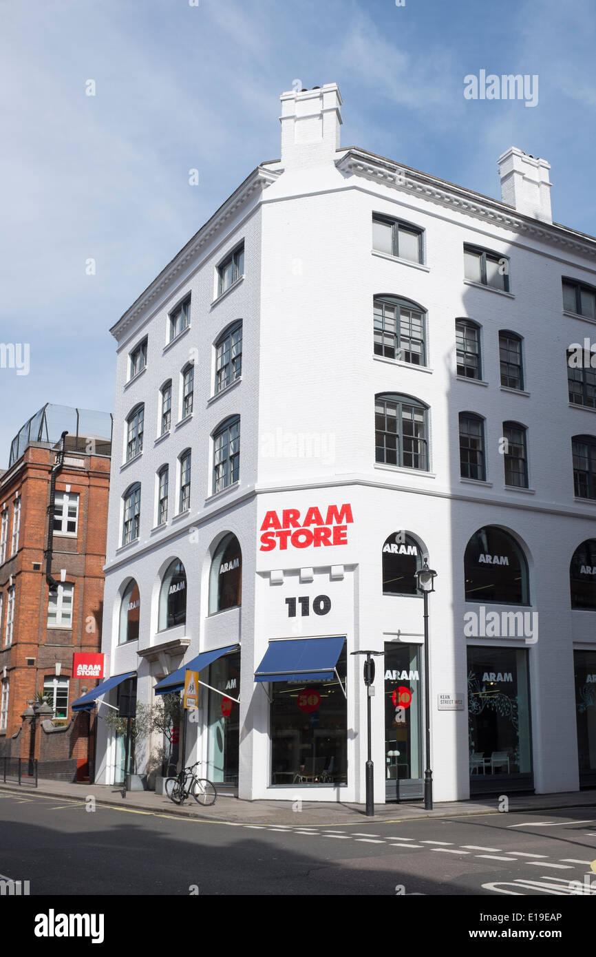 Aram Store Covent Garden London - Stock Image