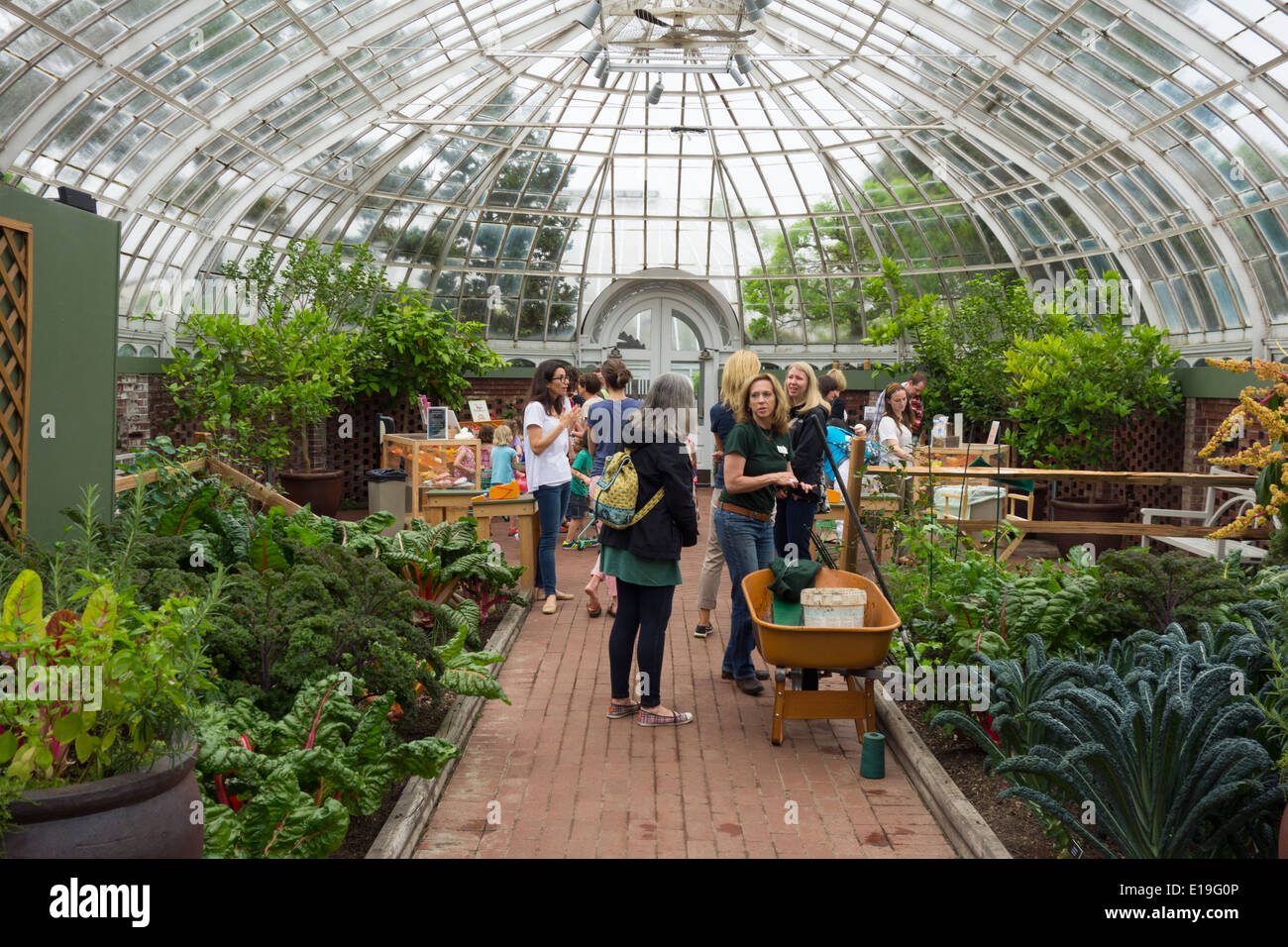 Phipps Conservatory And Botanical Garden In Pittsburgh PA