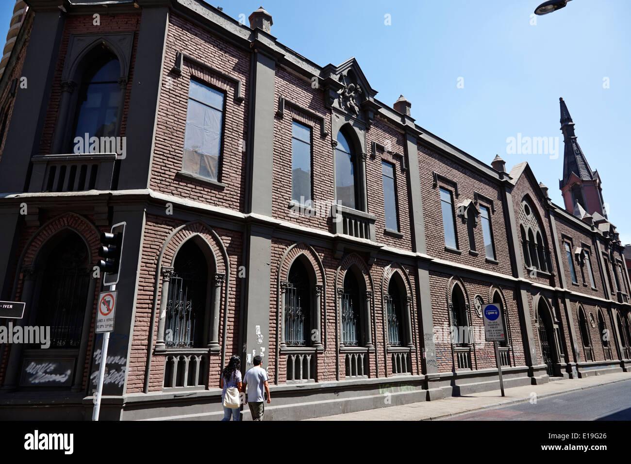 universidad mayor faculty of arts Santiago Chile - Stock Image