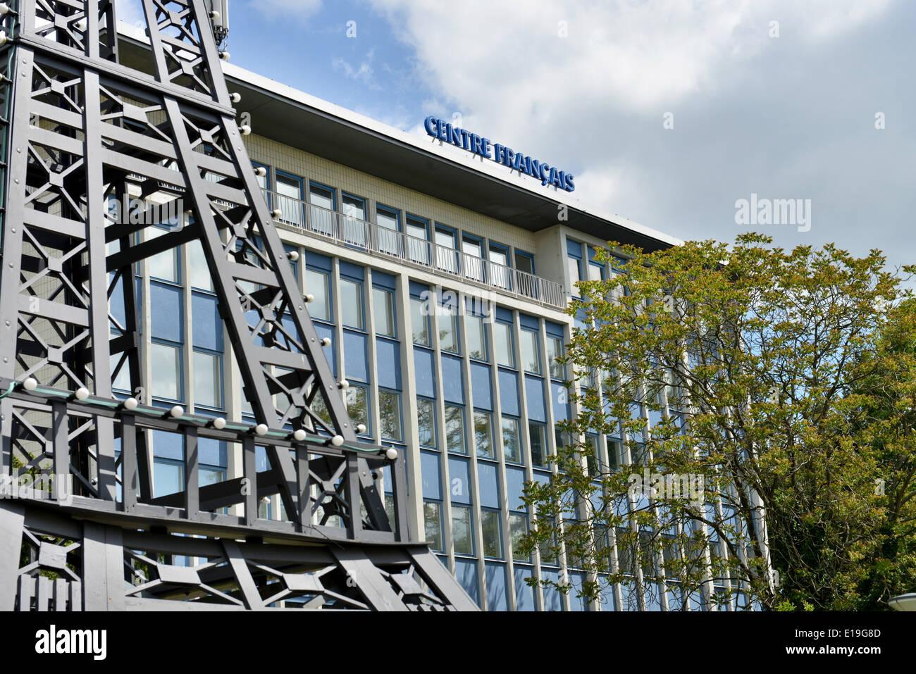 Centre Francais Muellerstrasse Wedding Berlin Deutschland Stock