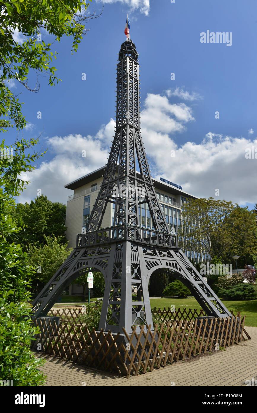 Eiffelturm Centre Francais Muellerstrasse Wedding Berlin Stock