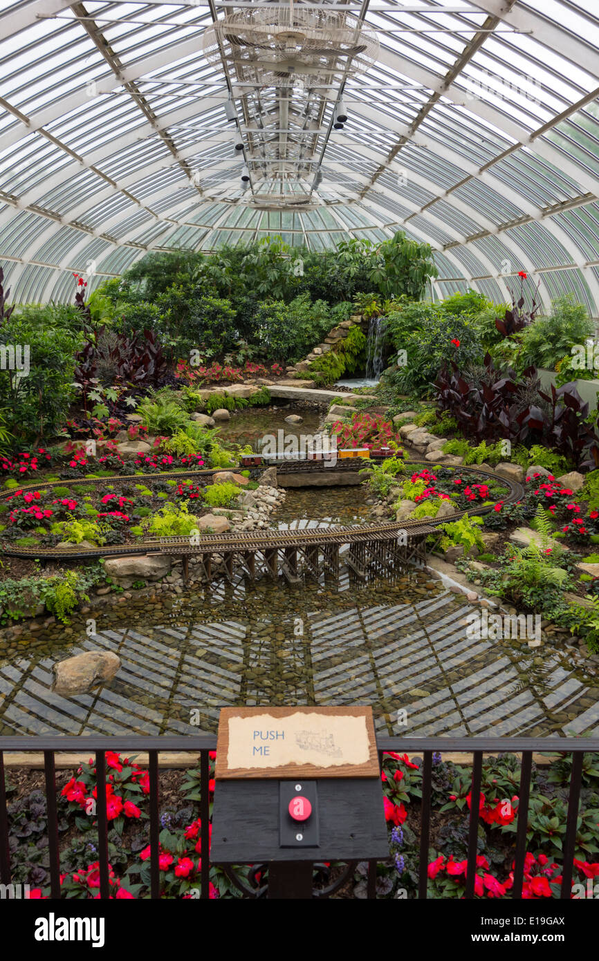 Phipps Conservatory Pittsburgh PA Stock Photo: 69666546 - Alamy
