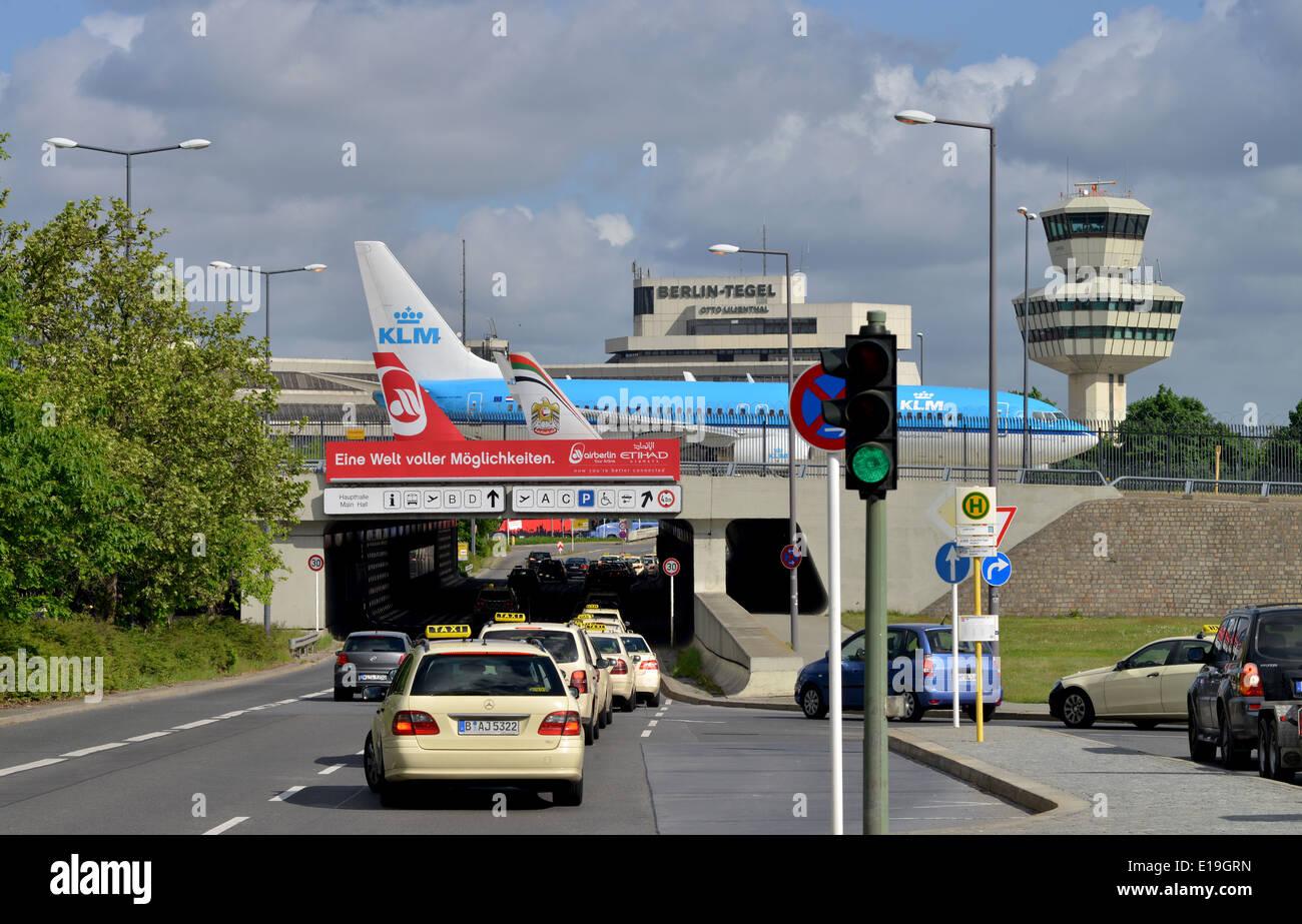 Flughafen Tegel, Berlin, Deutschland - Stock Image