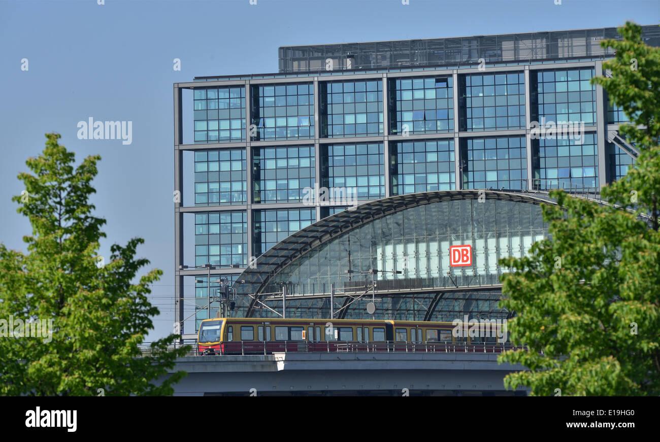 Hauptbahnhof Berlin, Deutschland - Stock Image