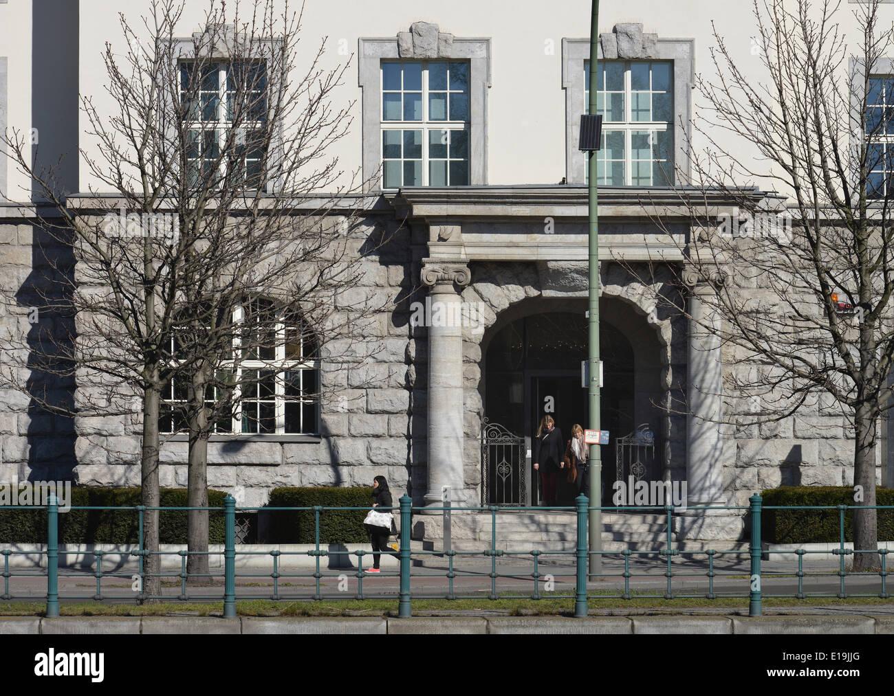 GIZ-Haus, Reichpietschufer, Tiergarten, Berlin, Deutschland - Stock Image