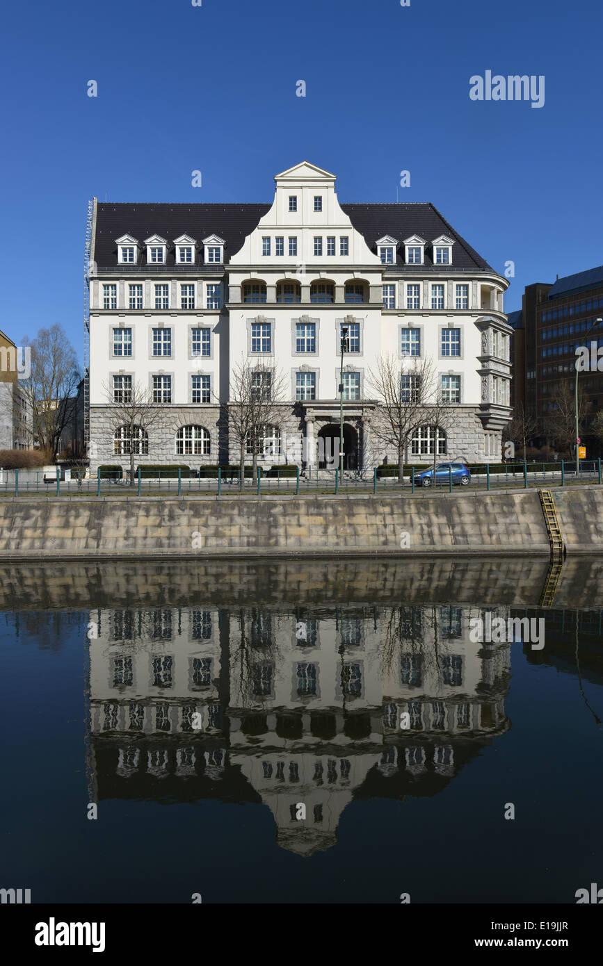 GIZ-Haus, Reichpietschufer, Tiergarten, Berlin, Deutschland Stock Photo